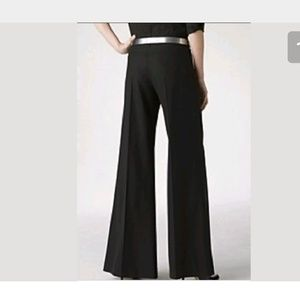 Theory Lydia's Tailor flare leg pant black 8
